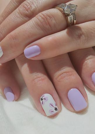 Lilac Mani