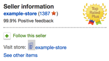 Becoming a Top Rated Seller on Ebay