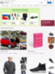 ebay tablet landing page