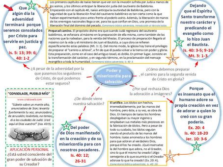 Lección 8: CONSOLAOS, PUEBLO MÍO (20 de febrero 2021)