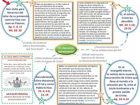 Lección 13: EL DESCANSO SUPREMO (25 de septiembre)