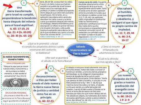 Lección 13: EL NUEVO NACIMIENTO DEL PLANETA TIERRA (27 de marzo 2021)