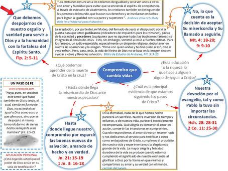 Lección 13: UN PASO DE FE (26 de septiembre 2020)