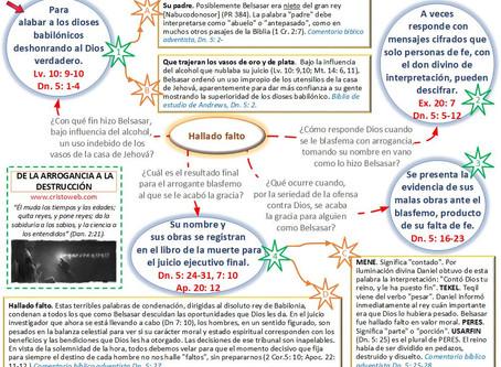 Lección 6: DE LA ARROGANCIA A LA DESTRUCCIÓN (8 de febrero 2020)