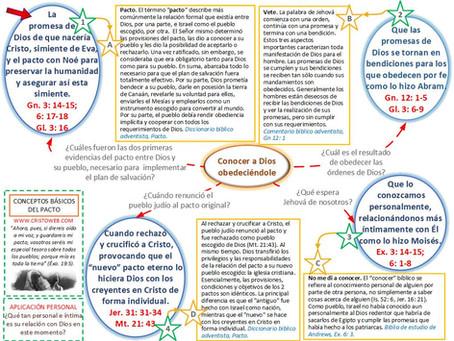 Lección 2: CONCEPTOS BÁSICOS DEL PACTO (10 de abril 2021)