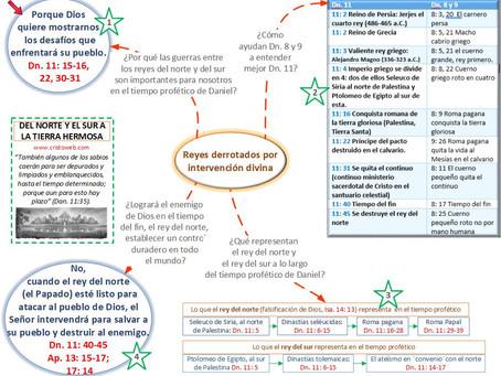 Lección 12: DEL NORTE Y EL SUR A LA TIERRA HERMOSA (21 de marzo 2020)