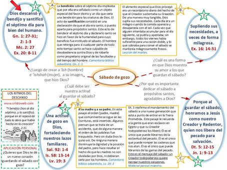 Lección 9: LOS RITMOS DEL DESCANSO (28 de agosto)