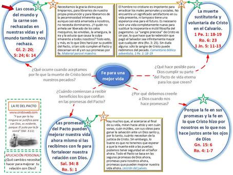 Lección 12: LA FE DEL PACTO (19 de junio)