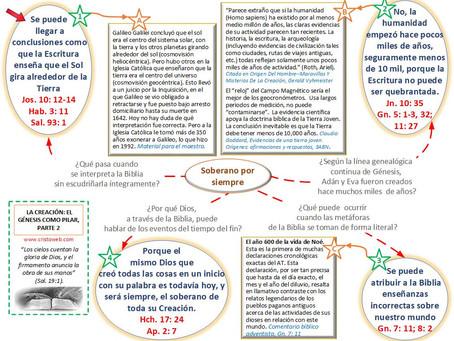 Lección 9: LA CREACIÓN: EL GÉNESIS COMO PILAR, PARTE 2 (30 de mayo 2020)