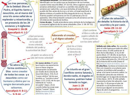 Lección 4: DIGNO ES EL CORDERO (25 de enero 2019)
