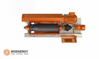 DHD-Dr Serie Dekanterzentrifuge - höchsteVerschleißschutz! Dekanterzentrifuge für die Bohrschlammaufbereitung, entwickelt für Tunnelbohren, Microtunneling, Tiefenbohrungen, Sand- und Kiesaufbereitung, Bergbau