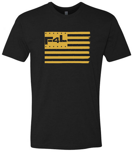 **LIMITED EDITION** Black & Gold Shirt