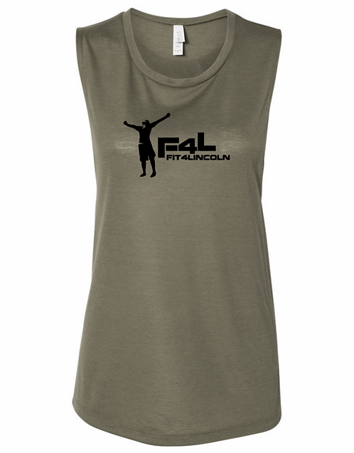 Fit4Lincoln Women's Muscle Tank