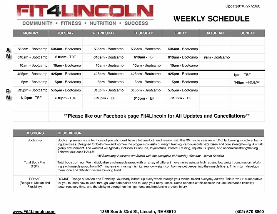 Fit4Lincoln Weekly Schedule 10-27-20.png