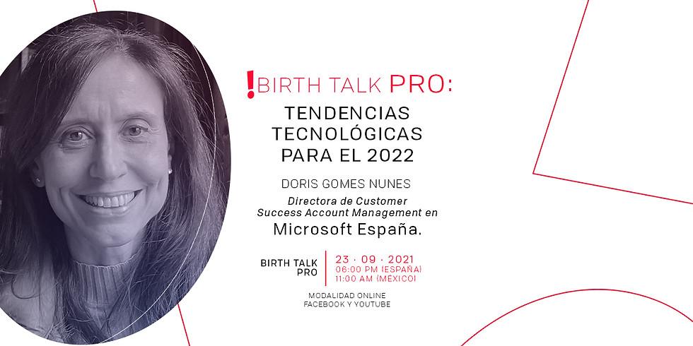 Birth Talk PRO: Tendencias tecnológicas para el 2022
