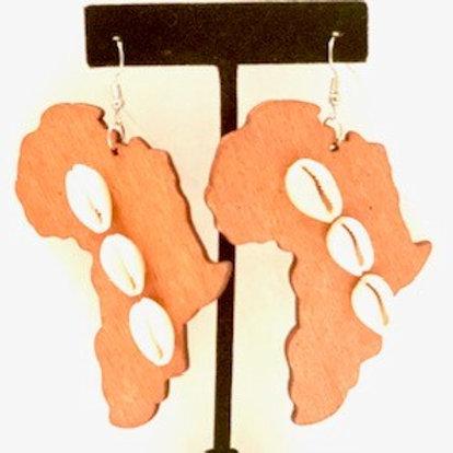 Africa Shells Light Brown