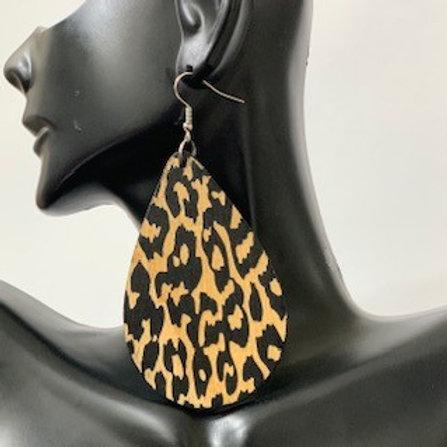 Leopard Tear Drop 1