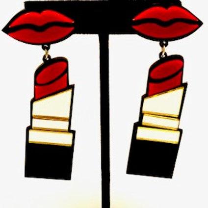 Lips Lipstick Red