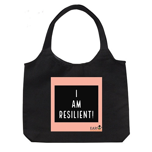 Resilient Peach Tote