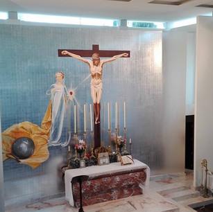 Instalación eléctrica e iluminación capilla Santiago Apostol