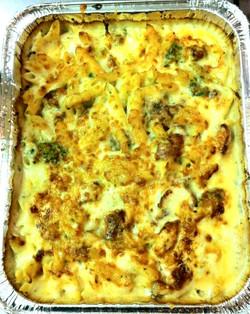 Grilled Chicken Alfredo (w/Cheese)