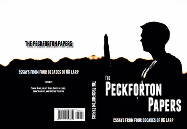 Picture of book cover for the Peckforton Papers featuring a hero in shadow