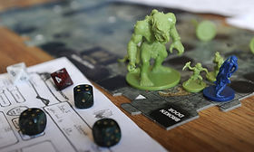 A photo of a tabletop RPG