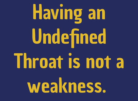 Your Undefined Throat is Not a Weakness