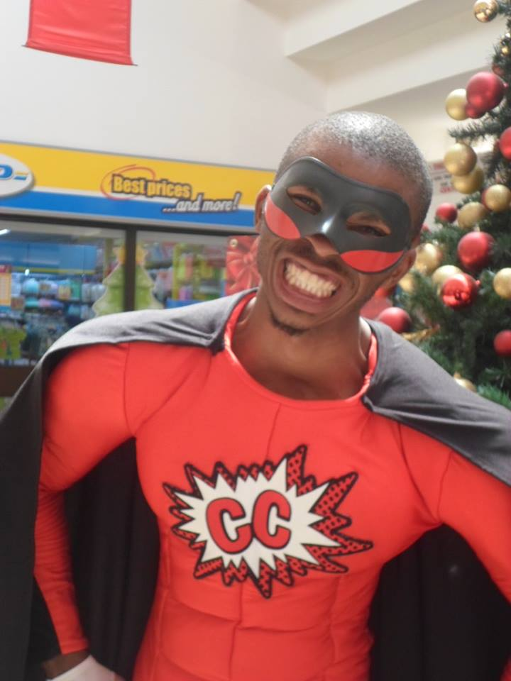 Capital Centre Mall Superhero