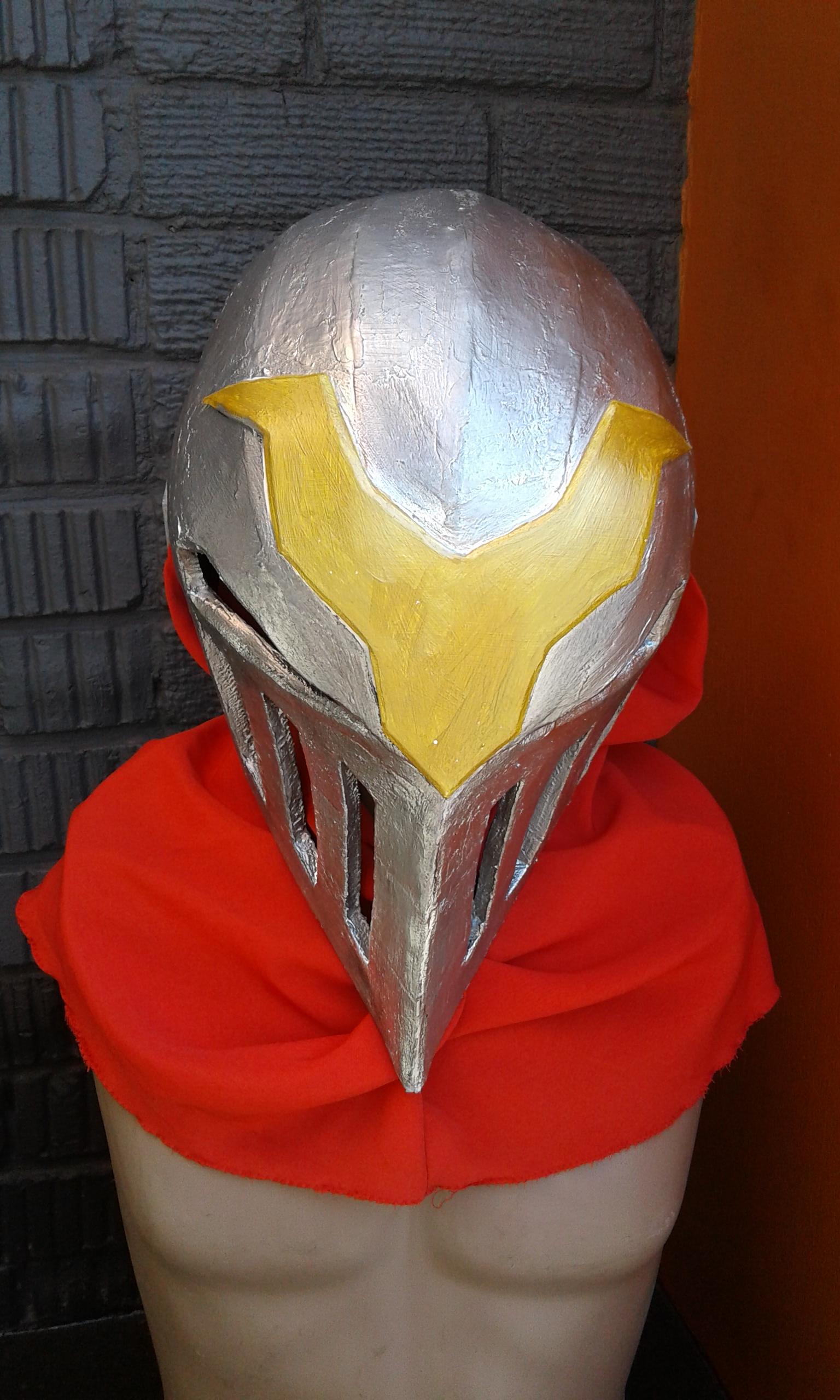 Silver Zed Ninja  Mask (1)