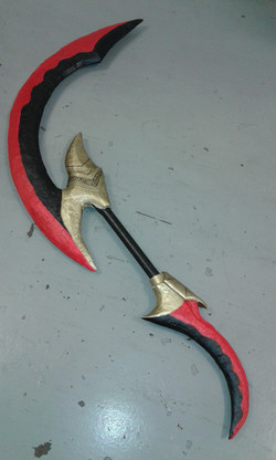 Red and Gold Sickle (2)
