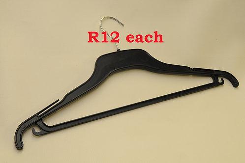 Black Premier Quality Standard Clothing Hanger
