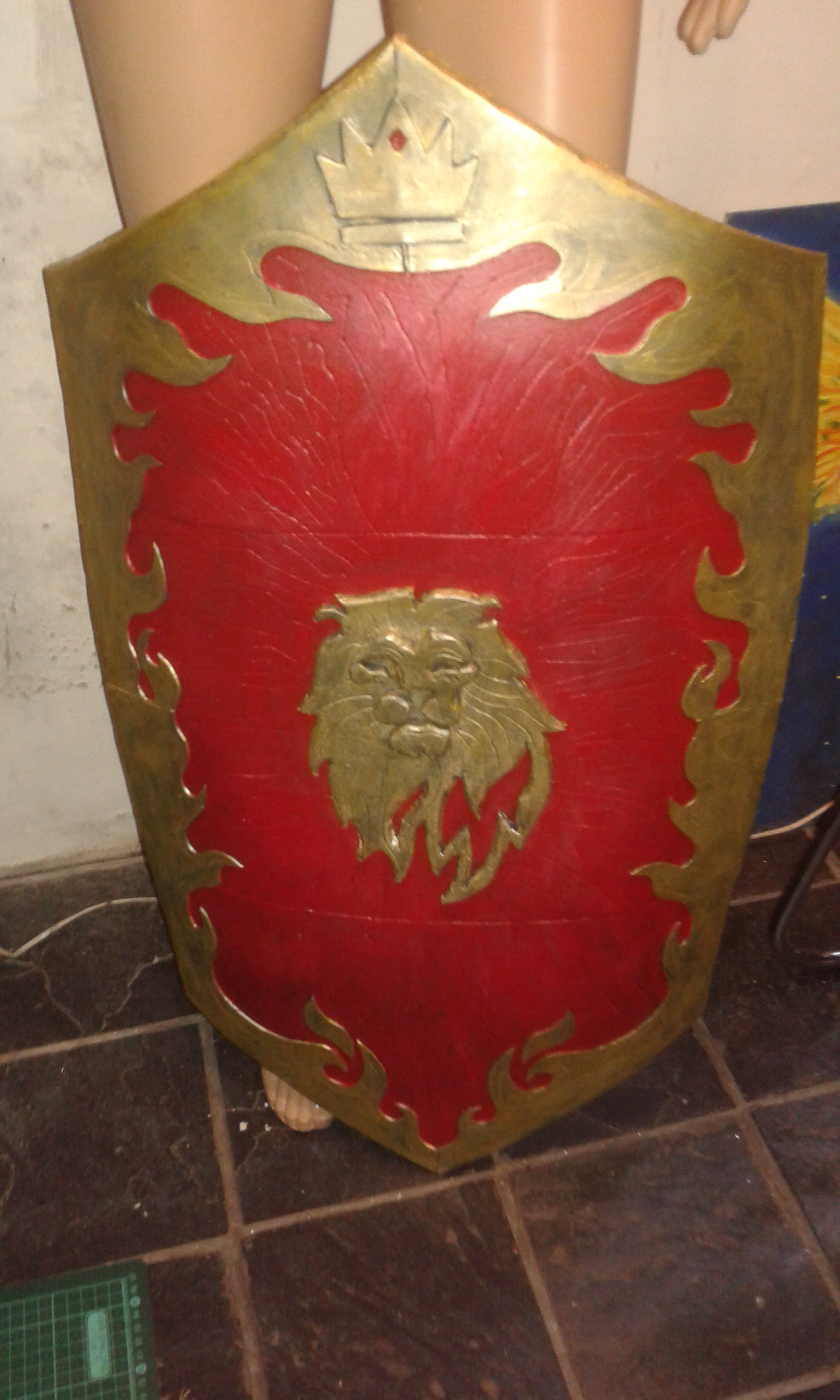 Peters Lion Shield