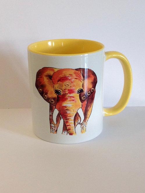 Lucky Elephant  mug