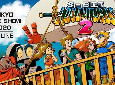 8-Bit Adventures 2 at Tokyo Game Show 2020 + Big Sale!