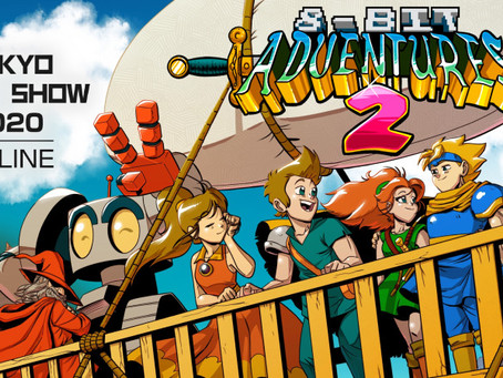 8-Bit Adventures 2 at Tokyo Game Show 2020 + Big Sale!