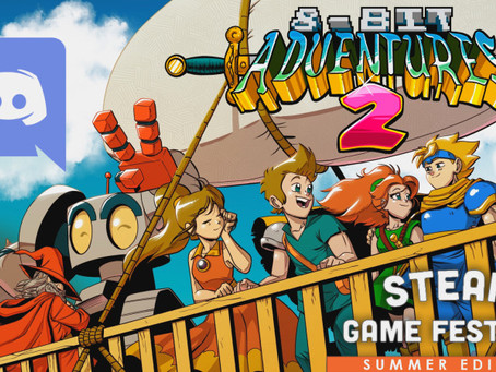 8-Bit Adventures 2 Discord AMA during Steam Summer Festival!