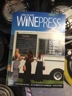 EMDM was featured in LI WinePress