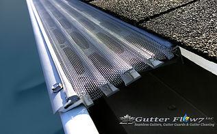 Heavy-Duty Aluminum Rain Gutters.