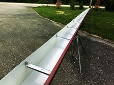 Heavy-Duty Aluminum Rain Gutters