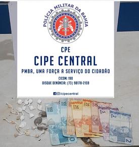 Nova Itarana: CIPE Central prende homem acusado de tráfico