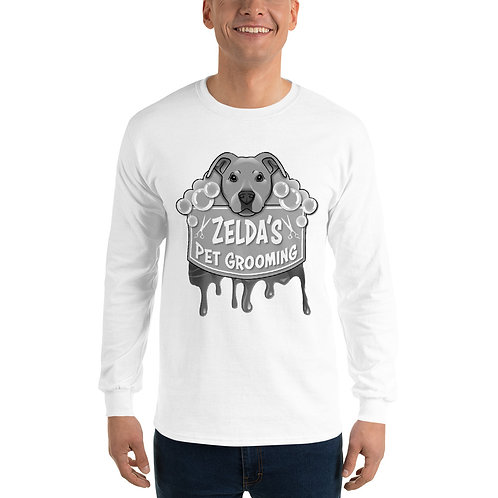 Simple Halloween Zelda's Long Sleeve (Black and White)