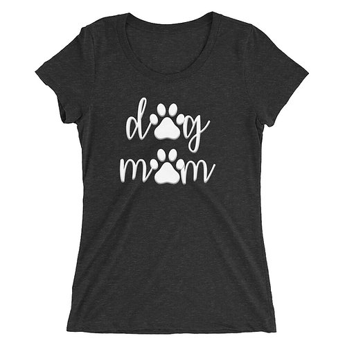 Dog Mom Tee (White Design)