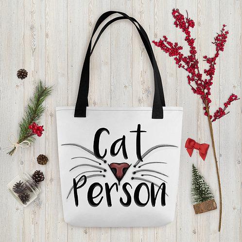 Cat Person Tote