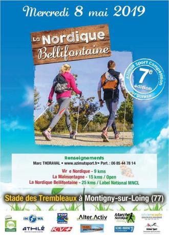 La Nordique Bellifontaine 8/05/19 - 26 km