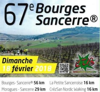 Bourges / Sancerre - Dim 18 Février 2018