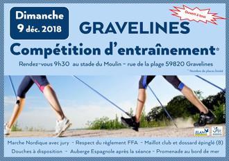 Compétition d'entrainement                                                         Marche Nordiq