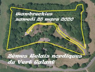 Relais Nordiques du Vert Galant  28/03/2020 à Wambrechies