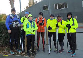 Une séance d'endurance de 23 km