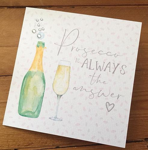 Prosecco Card